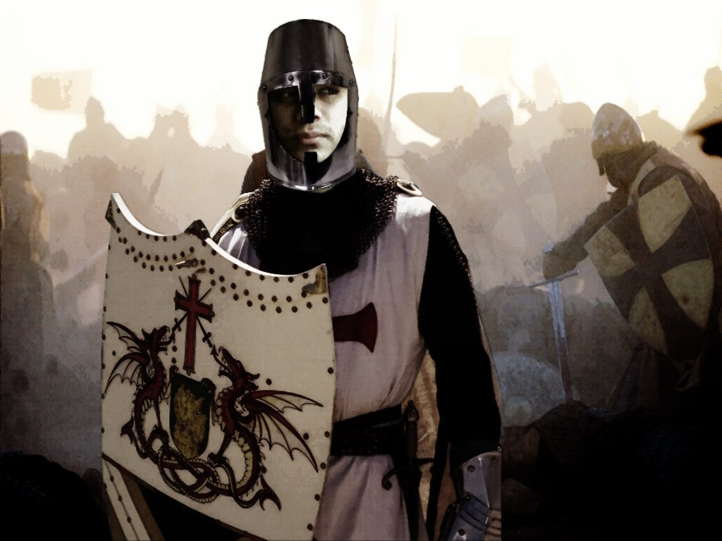 Knight Templar wallpaper 1024x768