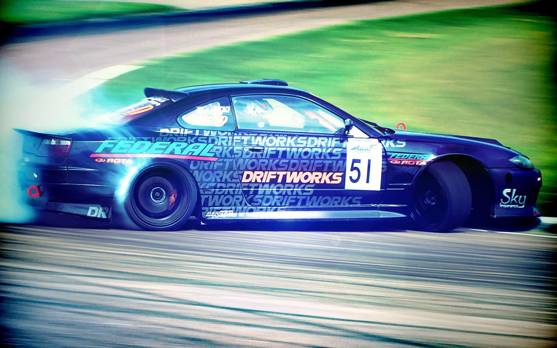 Cars Drift Wallpaper 1920x1200 Cars Drift Racing Nissan Silvia 1920x1200