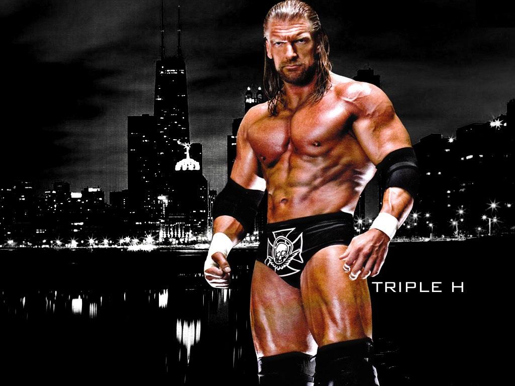 WWE Triple H Wallpaper 1024x768