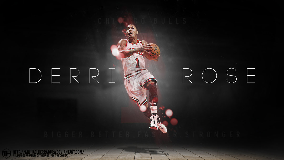Derrick Rose wallpaper by michaelherradura 1192x670