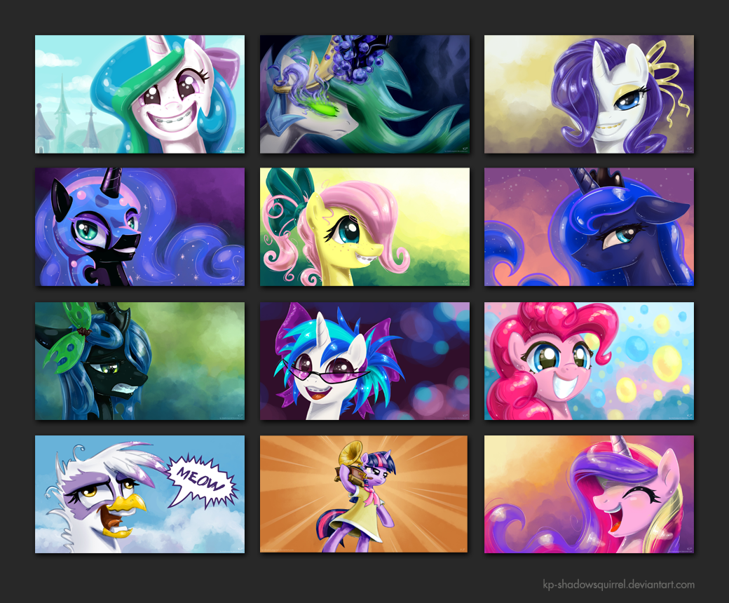 Free Download Mlp Fim Wallpapers 1040x860 For Your Desktop