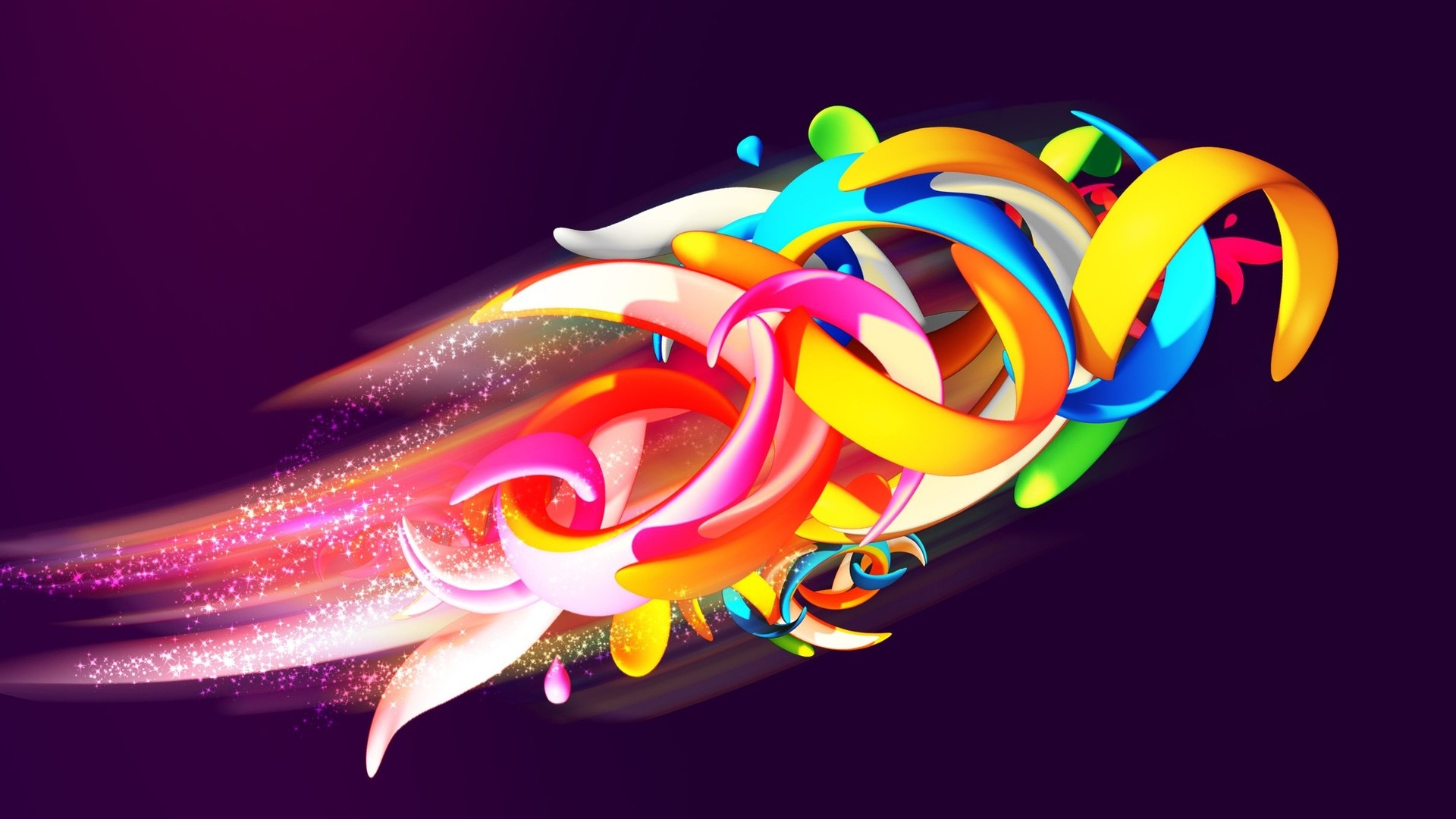 abstract wallpaper desktop shapes colorful 1920x1080 1920x1080