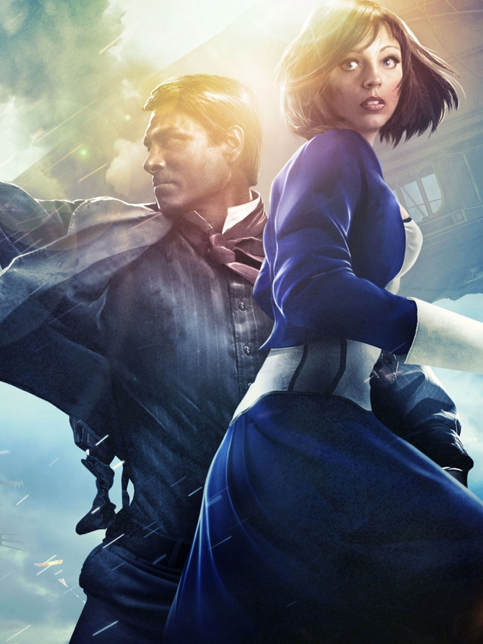 Game wallpapers in het weekend BioShock Infinite   intheGame 1535x2048