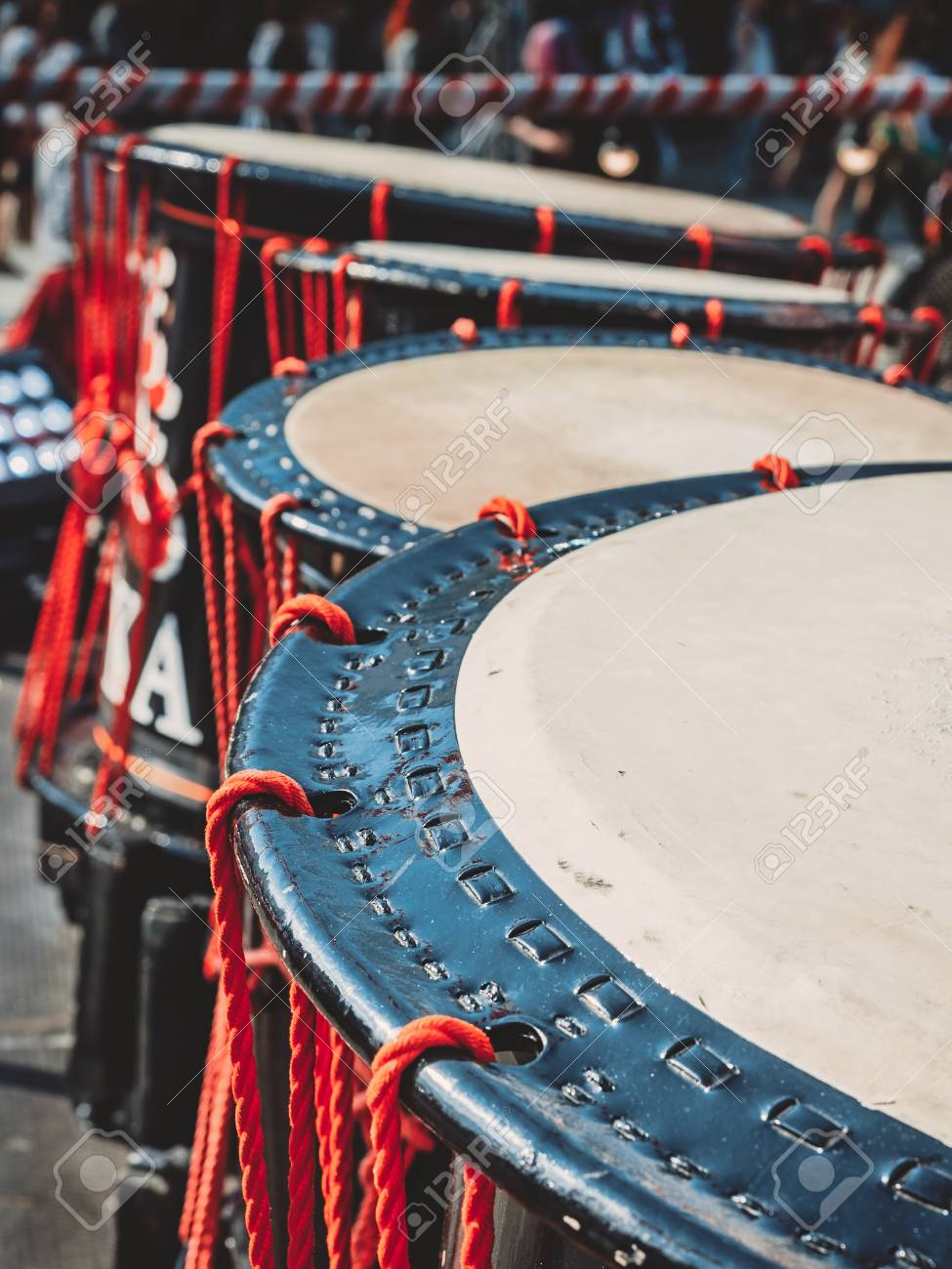 Taiko Drums O kedo On Scene Background Musical Instrument Of 975x1300