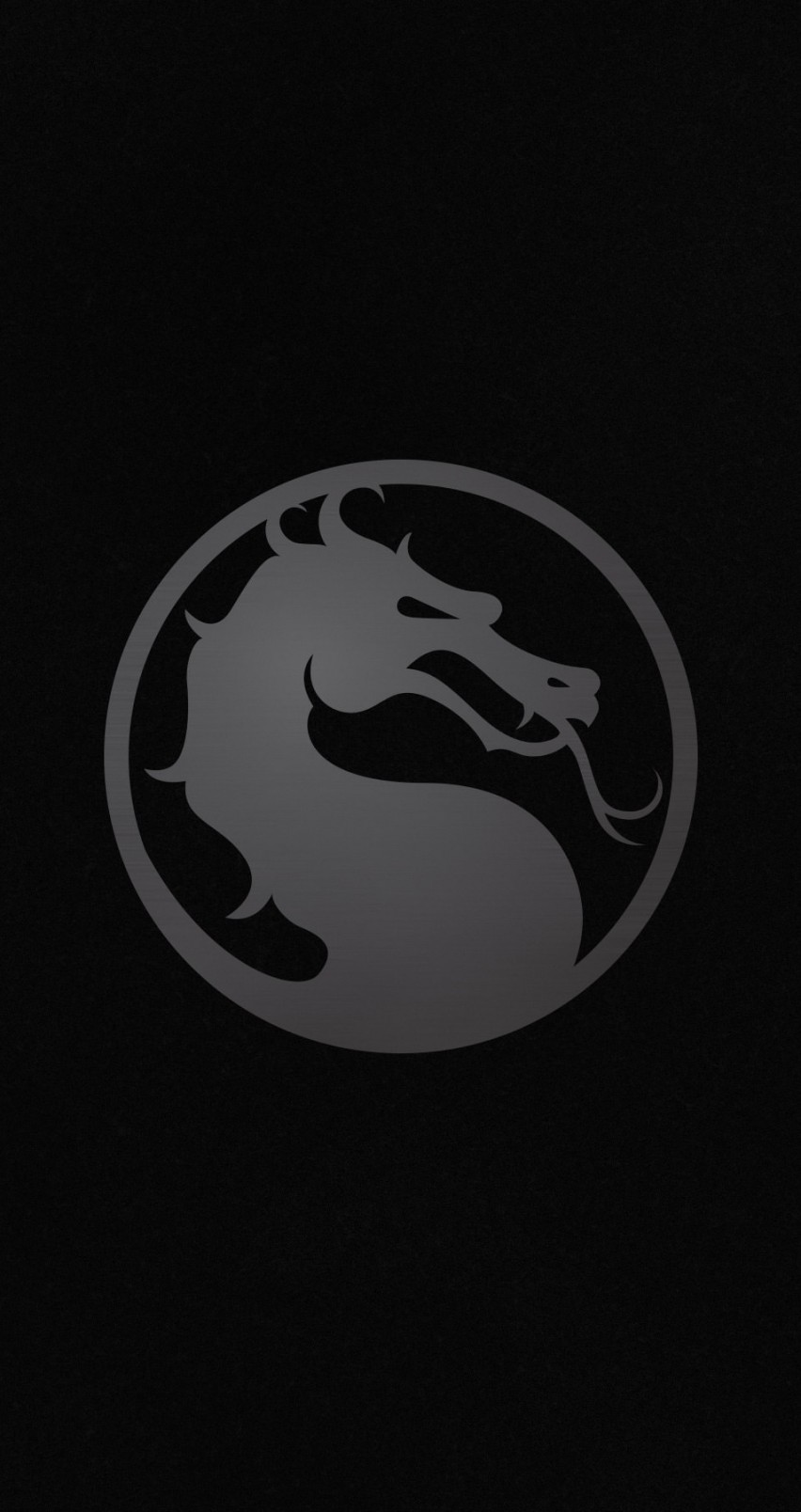 Download Mortal Kombat X Logo HD wallpaper for iPhone 6 6s 852x1608