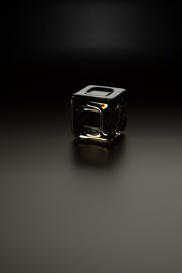 Black Cube Simply beautiful iPhone wallpapers 640x960