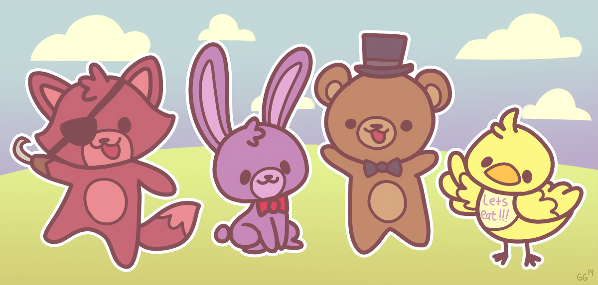 thetank54fnaf therapy blogsourceCute Version of Five Nights at 1200x573