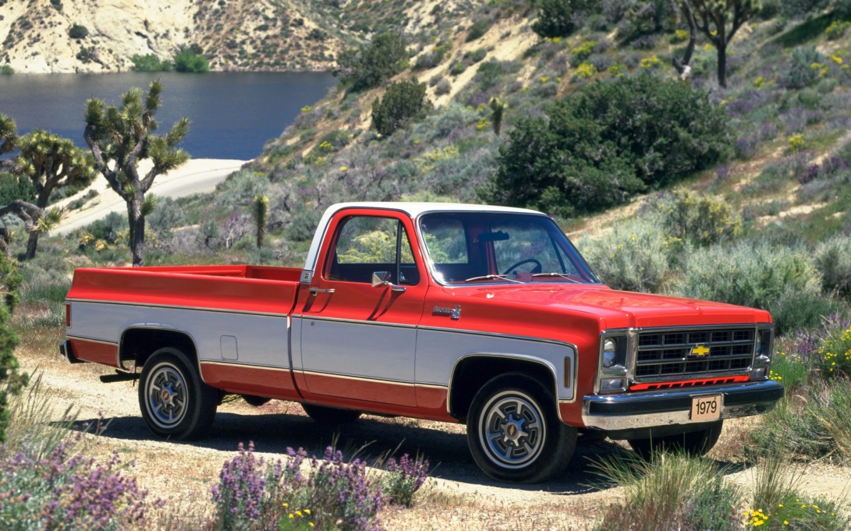Old Chevy Truck Wallpapers 1680x1050