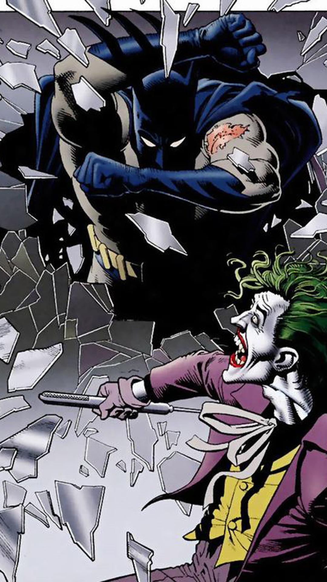 batman dc comics the joker killing joke 729405 1080x1920