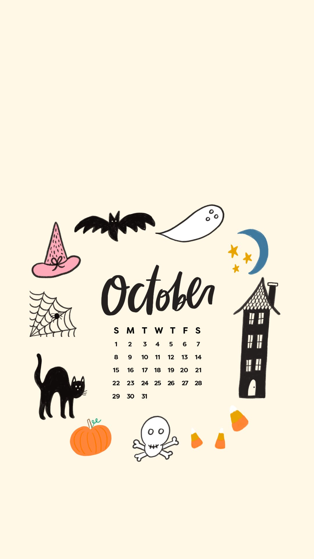 Tech Wallpapers Backgrounds for PSL Halloween October 2017 1080x1920