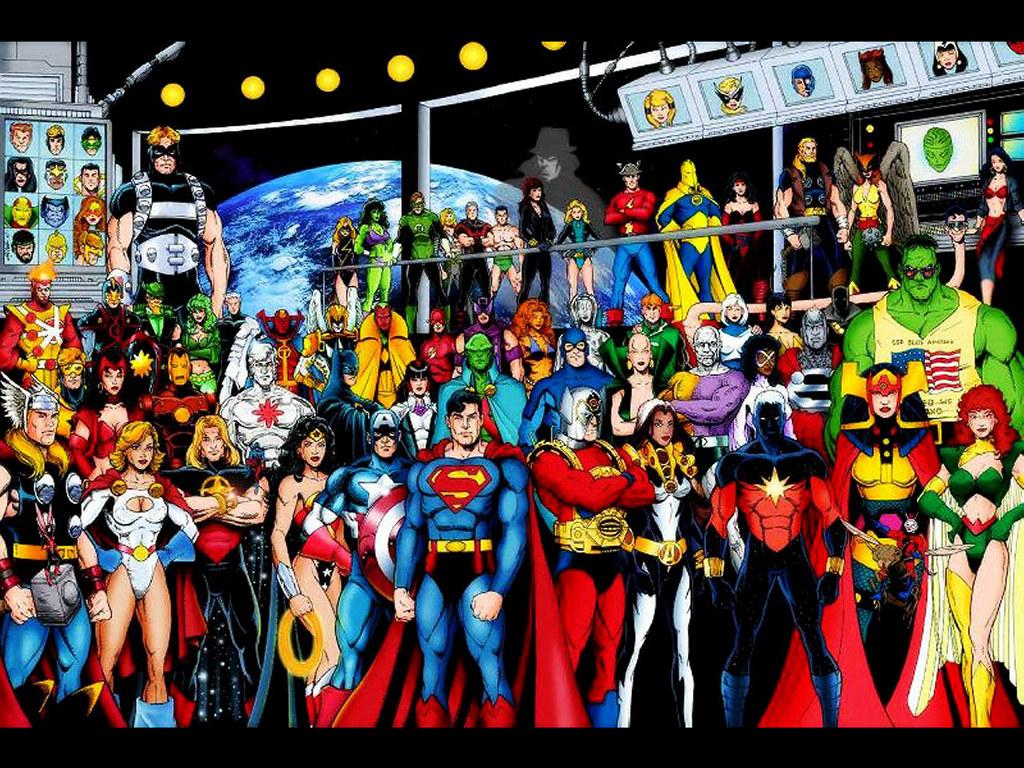 JLA   DC Comics Wallpaper 251217 1024x768