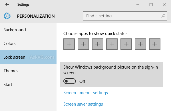 Disable Background Image Windows 10 Sign in Screenpng 599x390