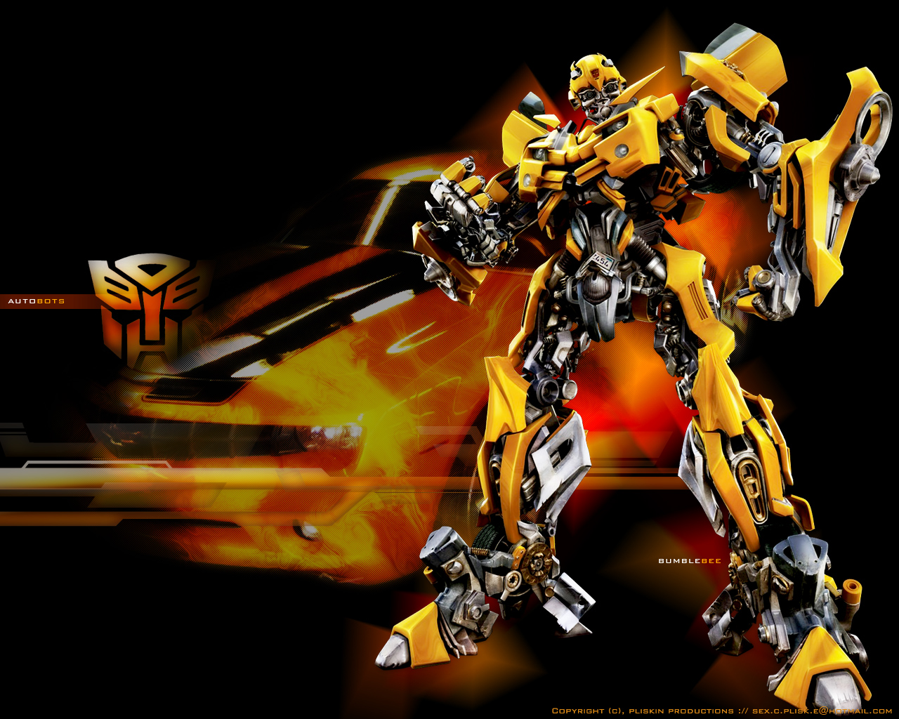 Transformers bumblebee wallpaper wallpapersafari - Transformers desktop backgrounds ...