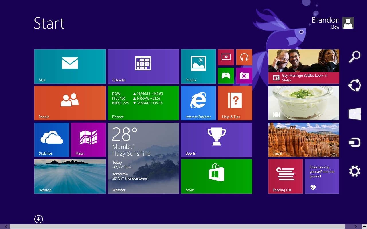 My Tech Sharing Windows 81 Preview First Look 1280x800