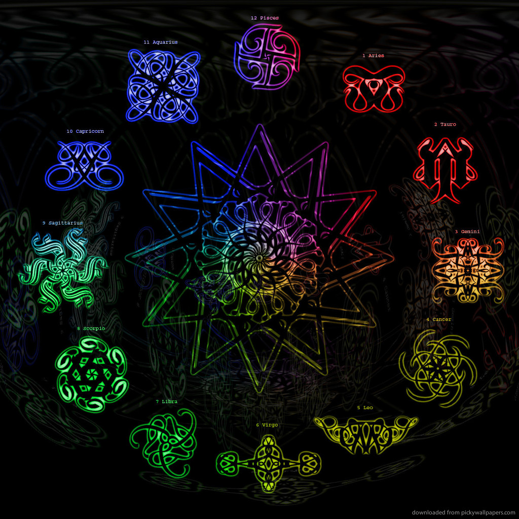 zodiac signs wallpaper wallpapersafari