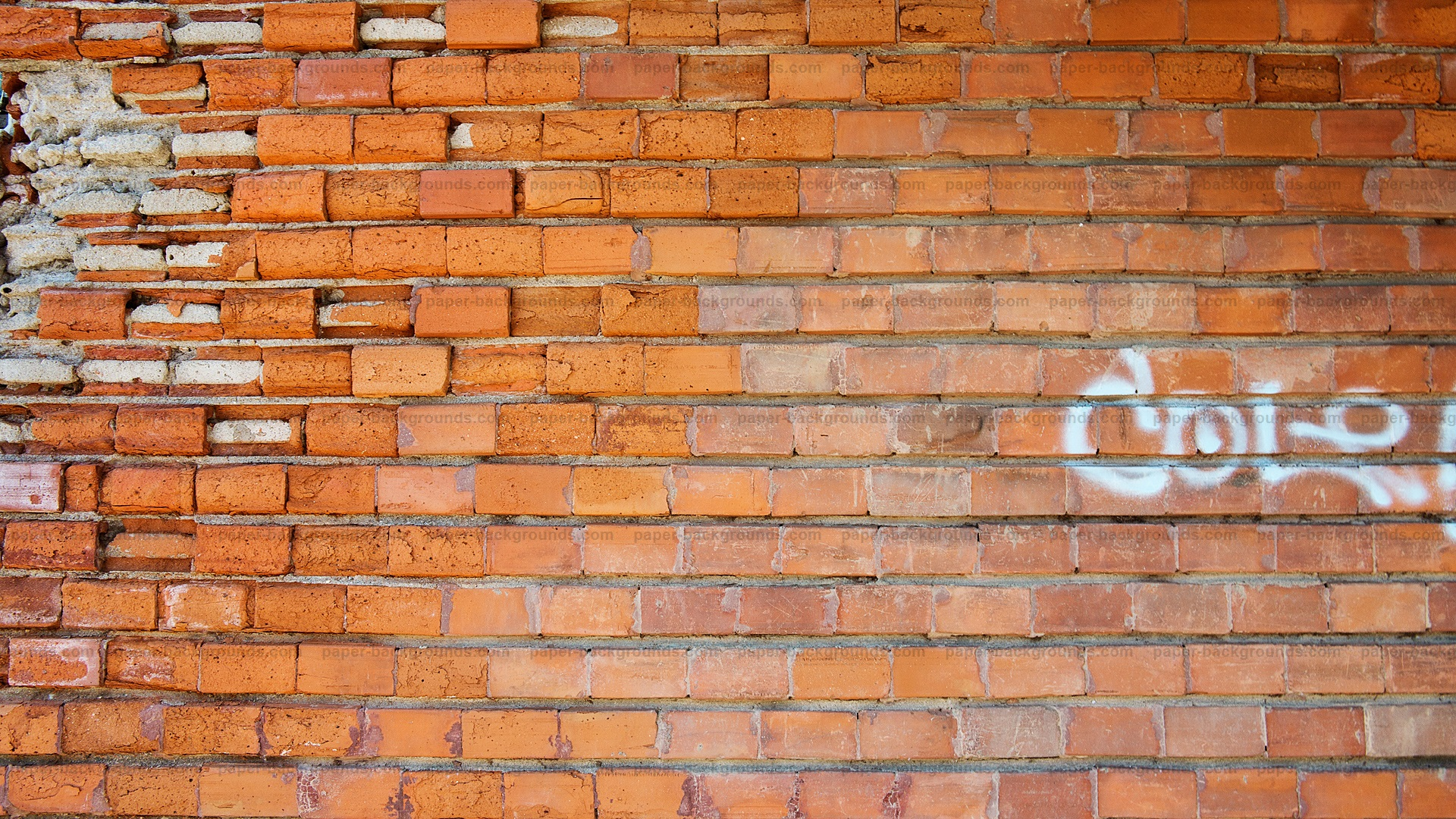Paper Backgrounds old brick wall background hd 1920x1080