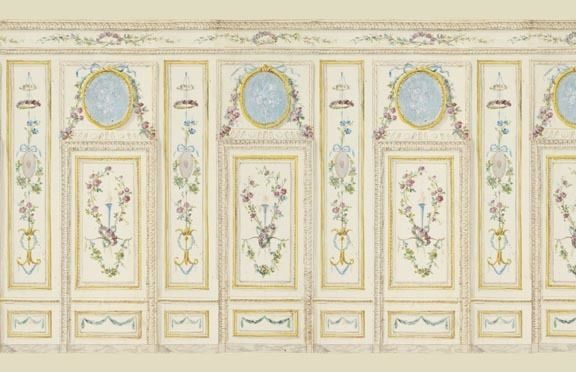 Dollhouse Wallpaper Art Panel 6005 eBay 576x372