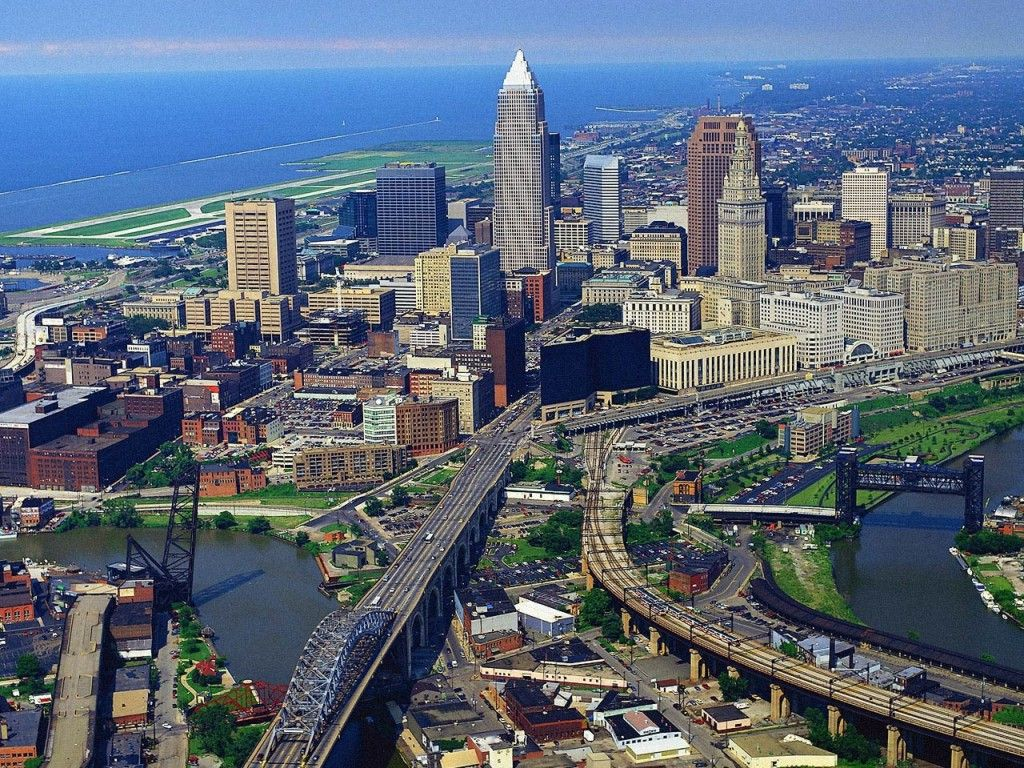 Desktop backgrounds Backgrounds Travels Cleveland Ohio 1024x768