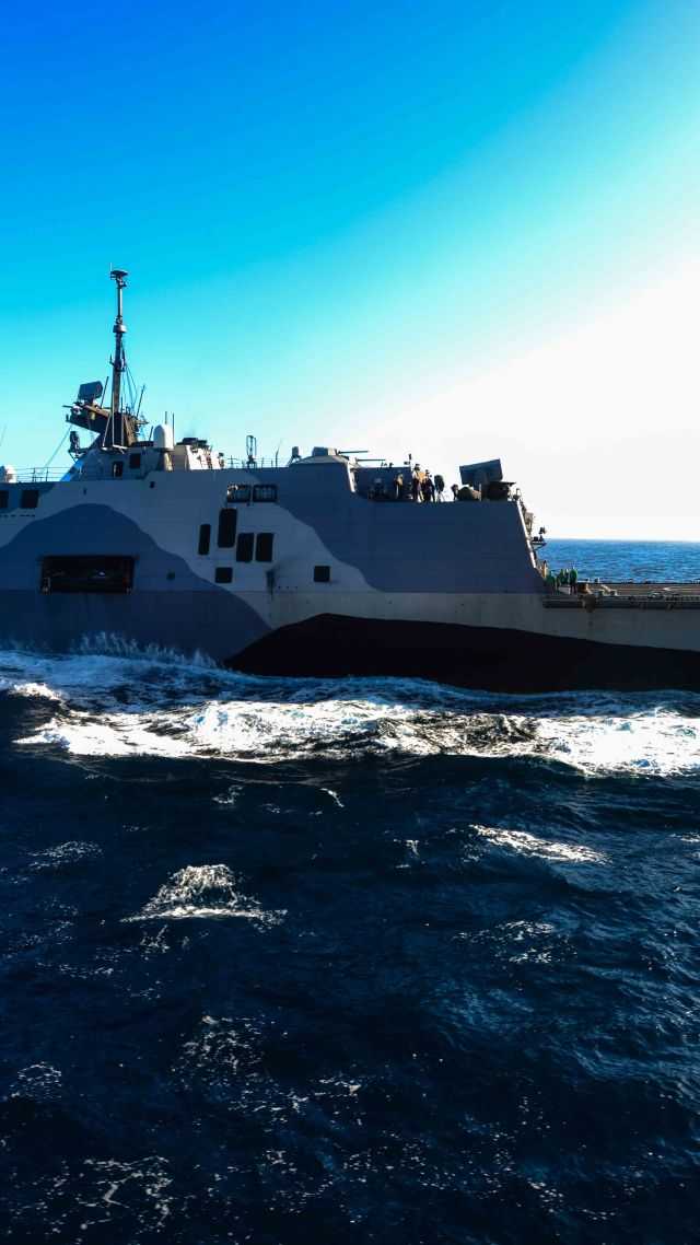 USS Freedom Wallpaper Military Vessels USS Freedom LCS 1 lead 640x1138