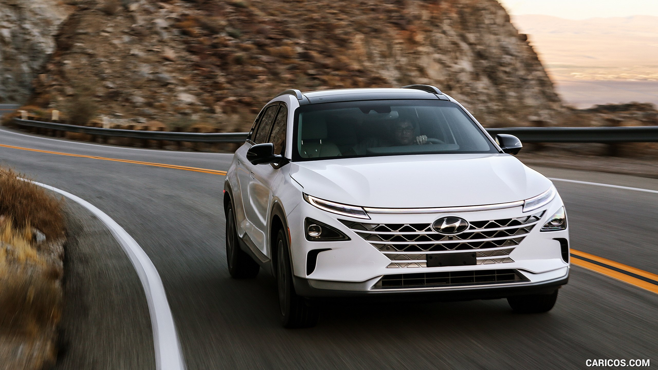 2019 Hyundai NEXO FCEV   Front Three Quarter HD Wallpaper 15 2560x1440