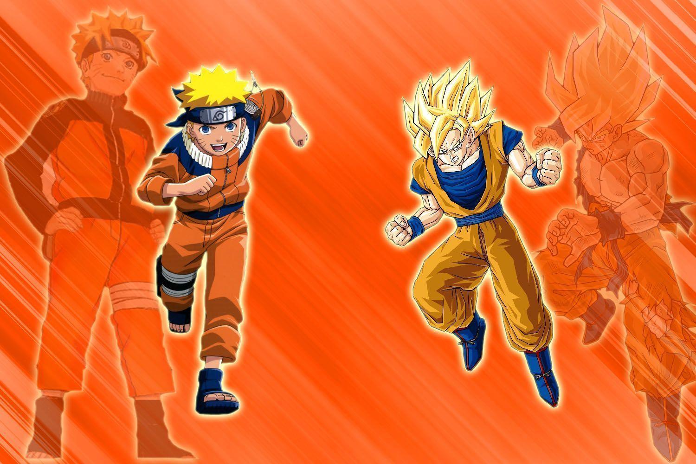 Goku And Naruto Wallpapers 1500x1000