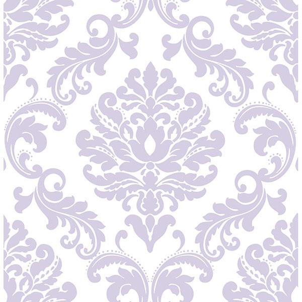 Purple Ariel Peel And Stick Wallpaper   By NuWallpaper 600x600