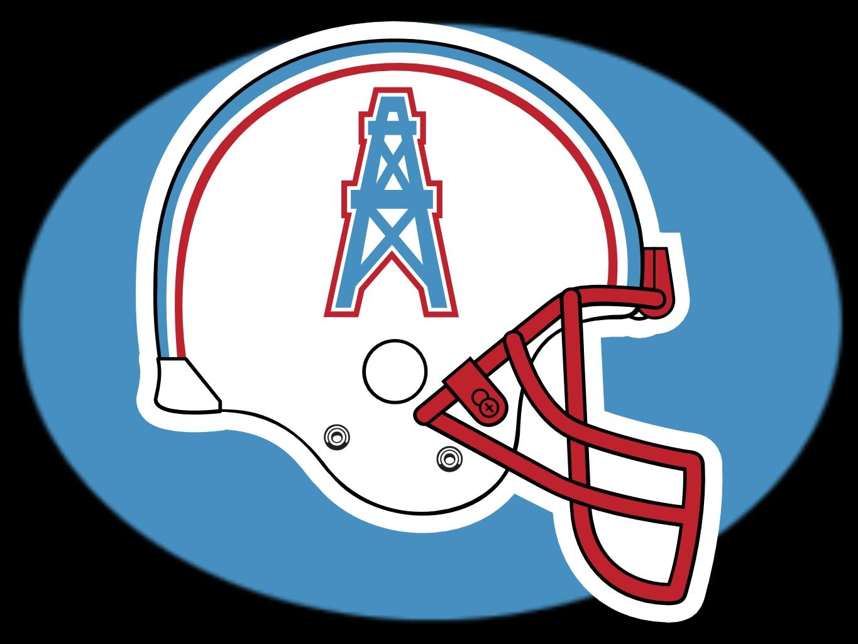 Houston Oilers Helmet 1365x1024
