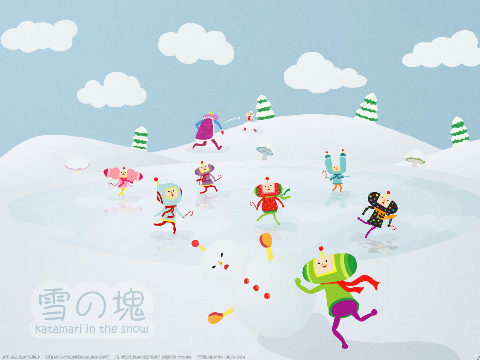 Snow Katamari Wallpaper 1600x1200 Snow Katamari Damacy 1600x1200