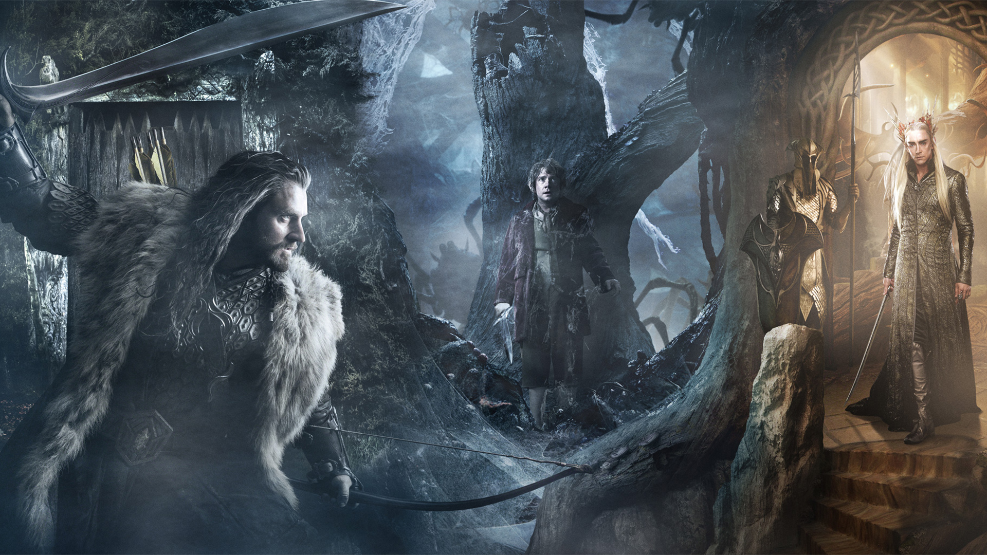 1920x1080 The Hobbit The Desolation of Smaug Trio desktop PC and Mac 1920x1080