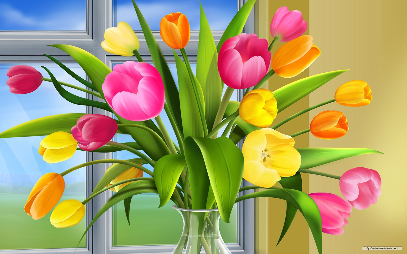 Spring Desktop Wallpaper Screensaver image 1680x1050
