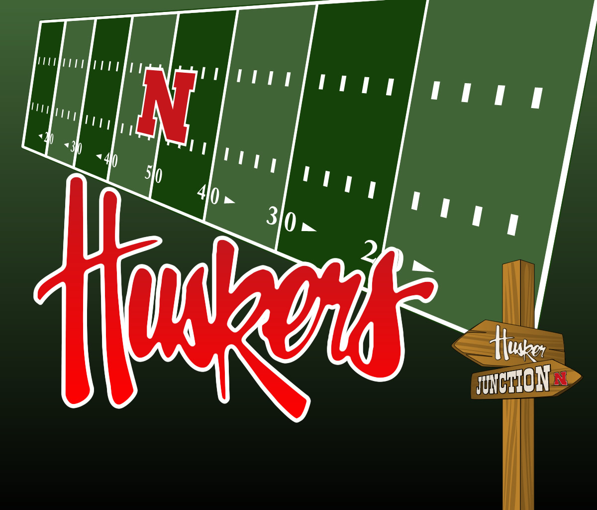 Huskers Wallpapers 1200x1024
