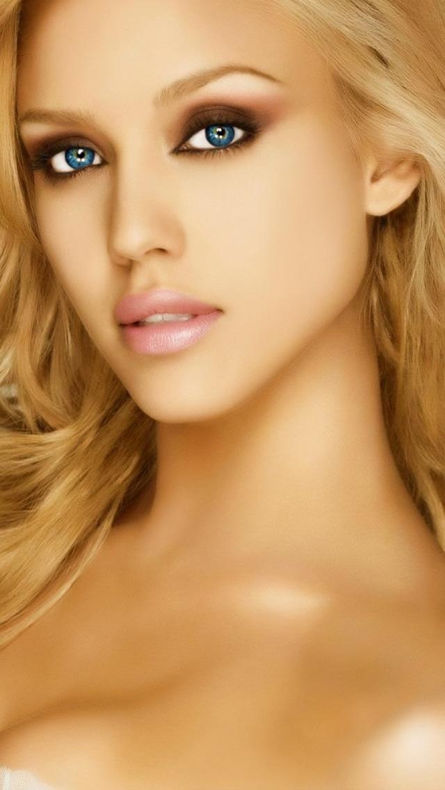 Jessica Alba IPhone 5 Wallpaper HD 640x1136