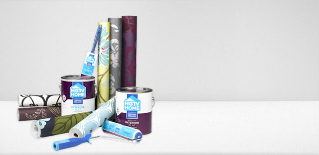 pumped to find out that HGTV has their own line of paint wallpaper 640x312