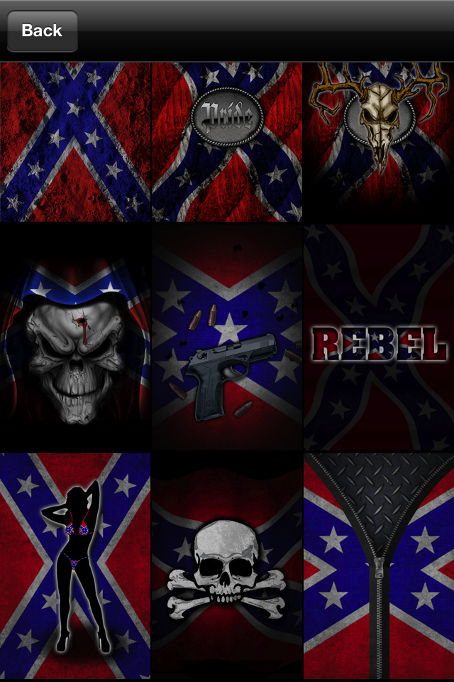 Confederate Flag Wallpaper httpstunningappsnetiphone app southern 640x960