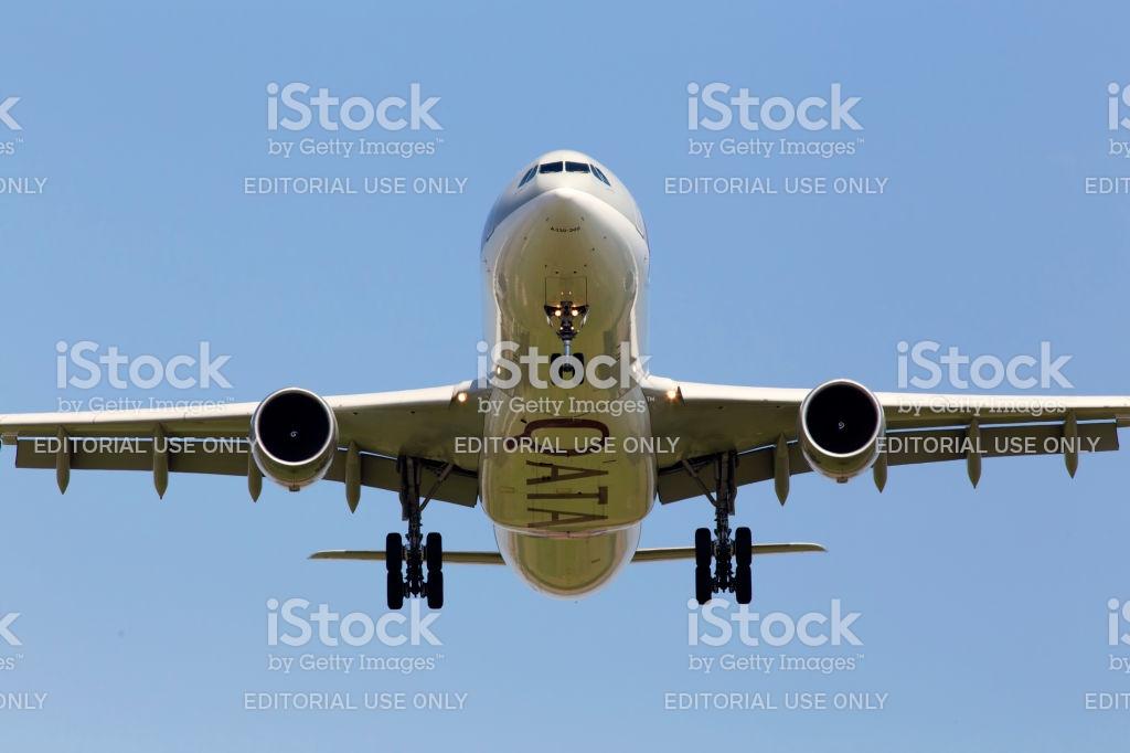 A7aeg Qatar Airways Airbus A330300 Aircraft On The Blue Sky 1024x682
