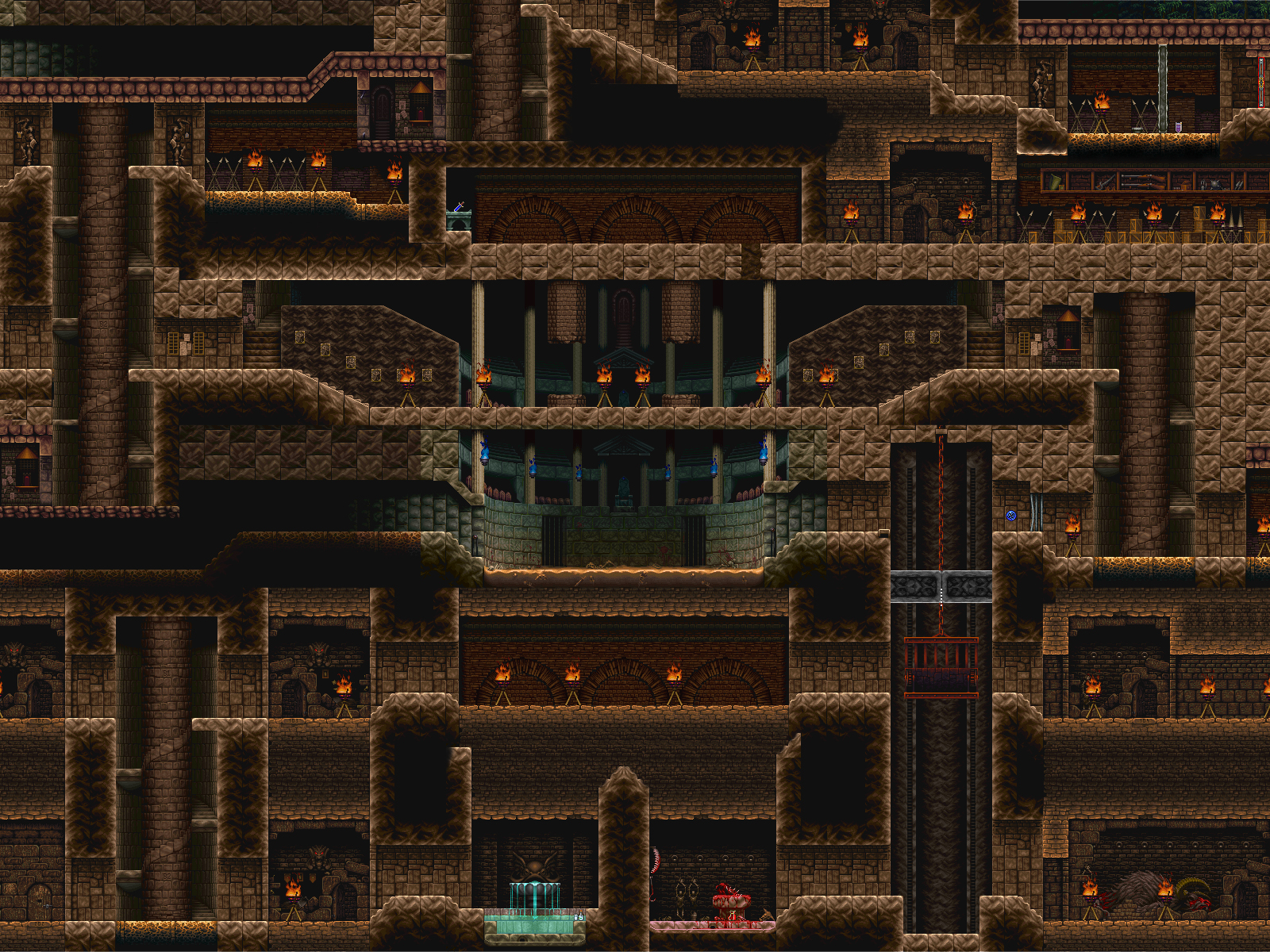 Free Download Castlevania Symphony Of The Night Wallpaper And