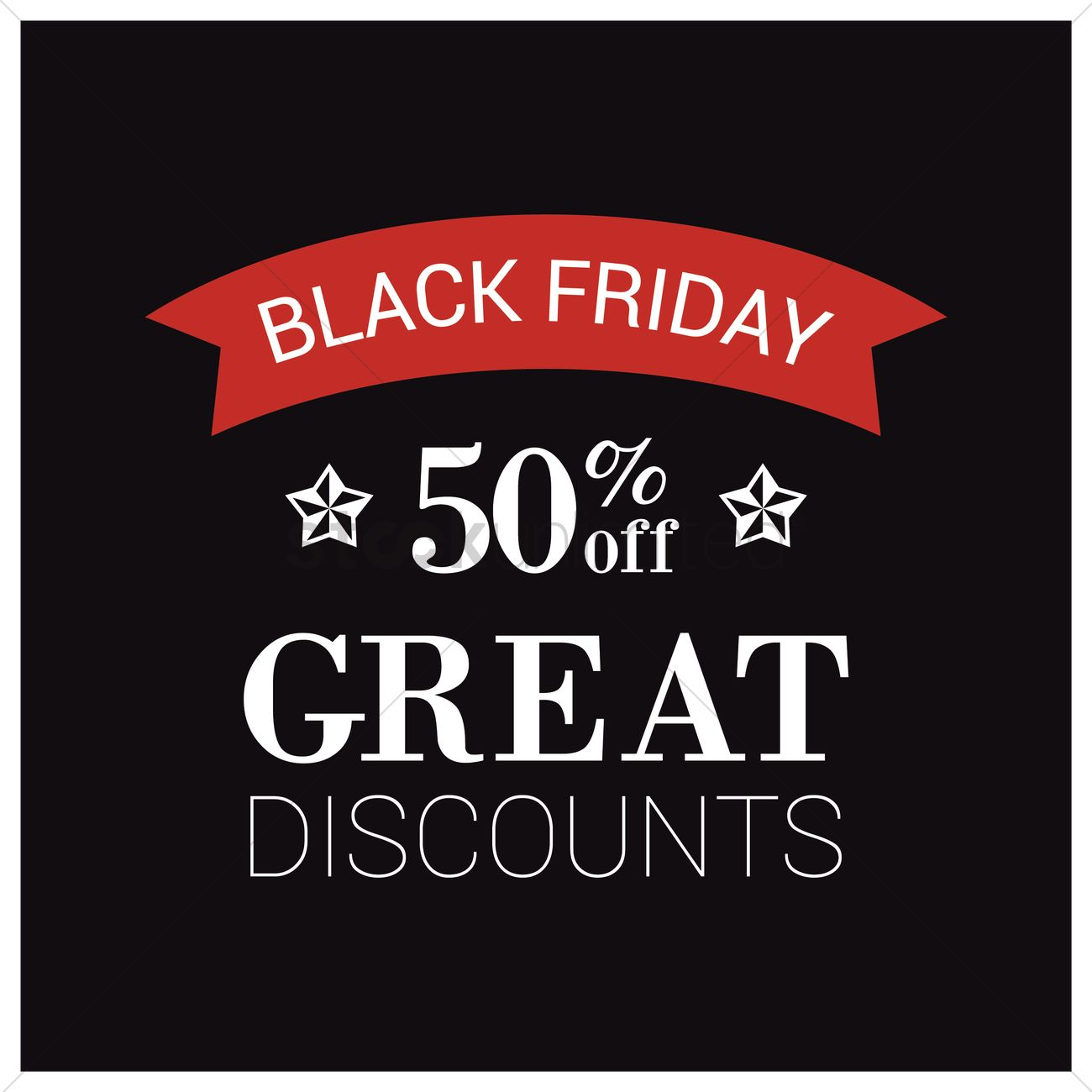 Black friday sale wallpaper Vector Image   1583534 StockUnlimited 1300x1300