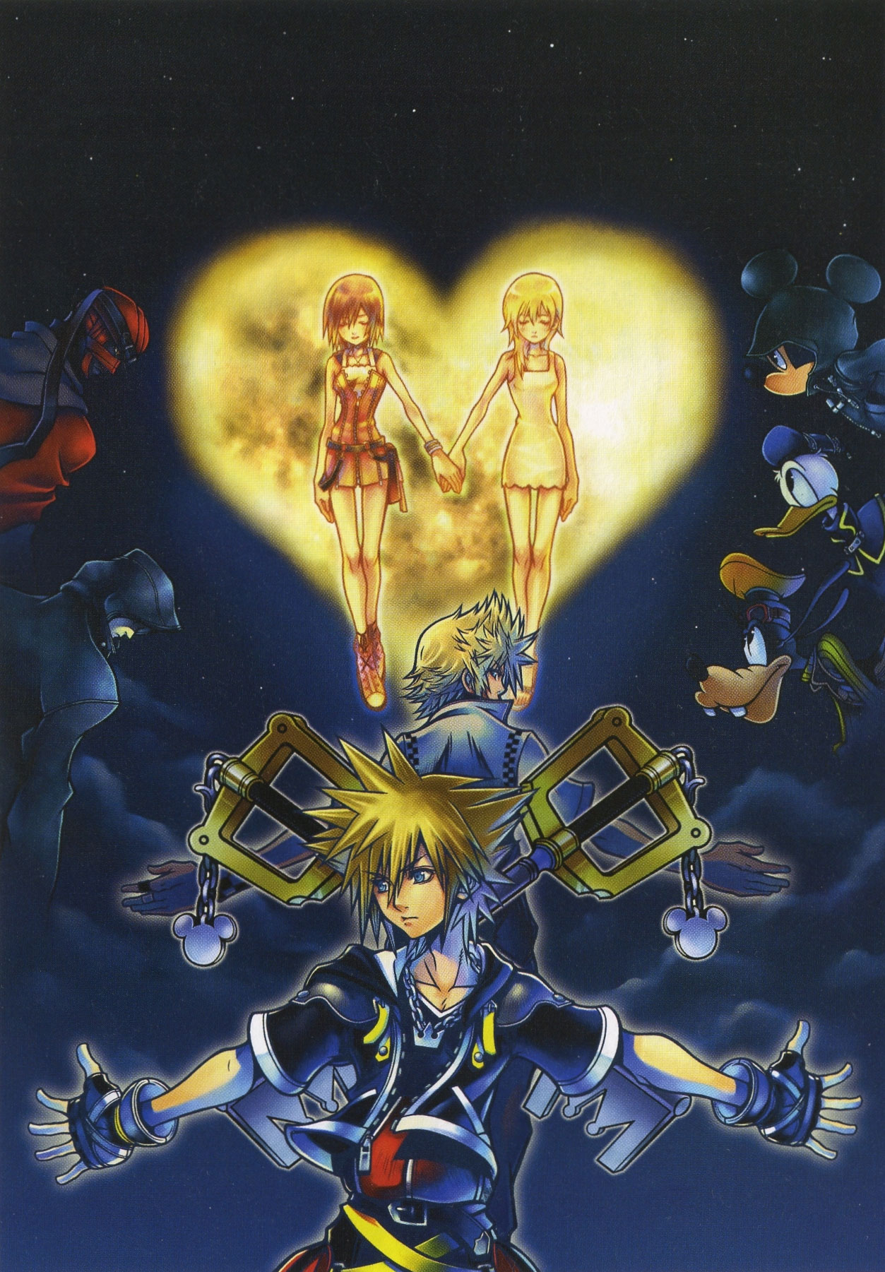 Kingdom Hearts 2 Wallpapers wallpaper Kingdom Hearts 2 Wallpapers hd 1253x1801