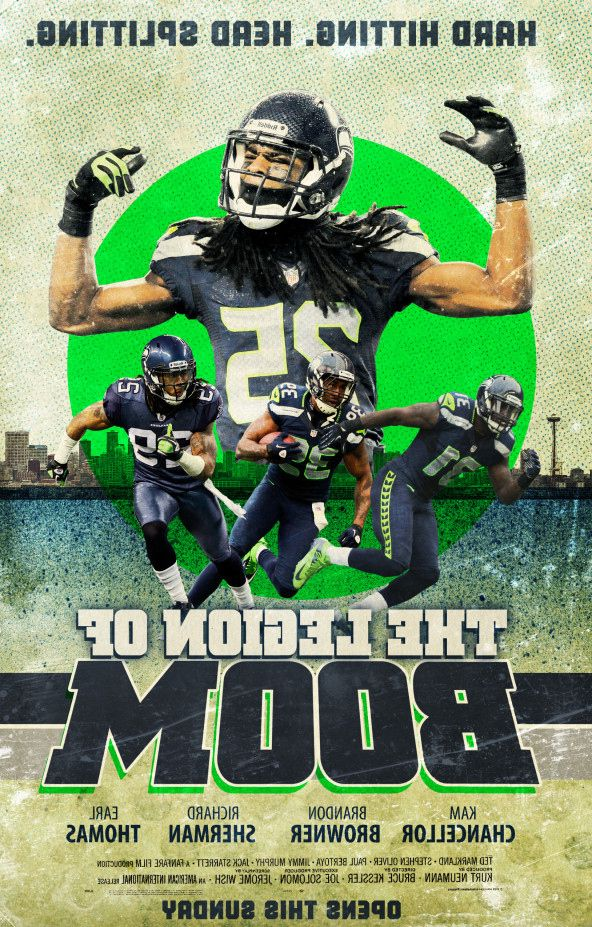 Seattle Seahawks Richard Sherman Poster 592x927