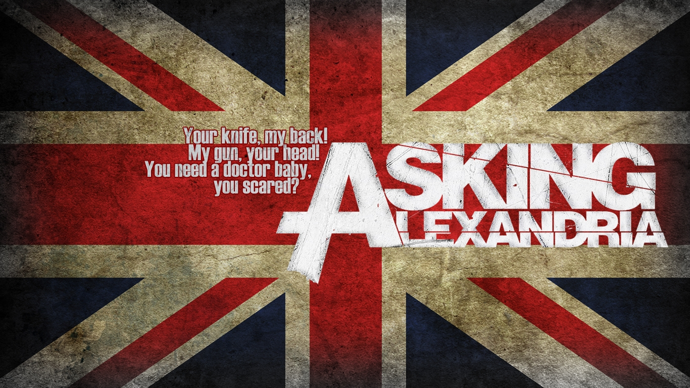 Asking Alexandria 1366x768