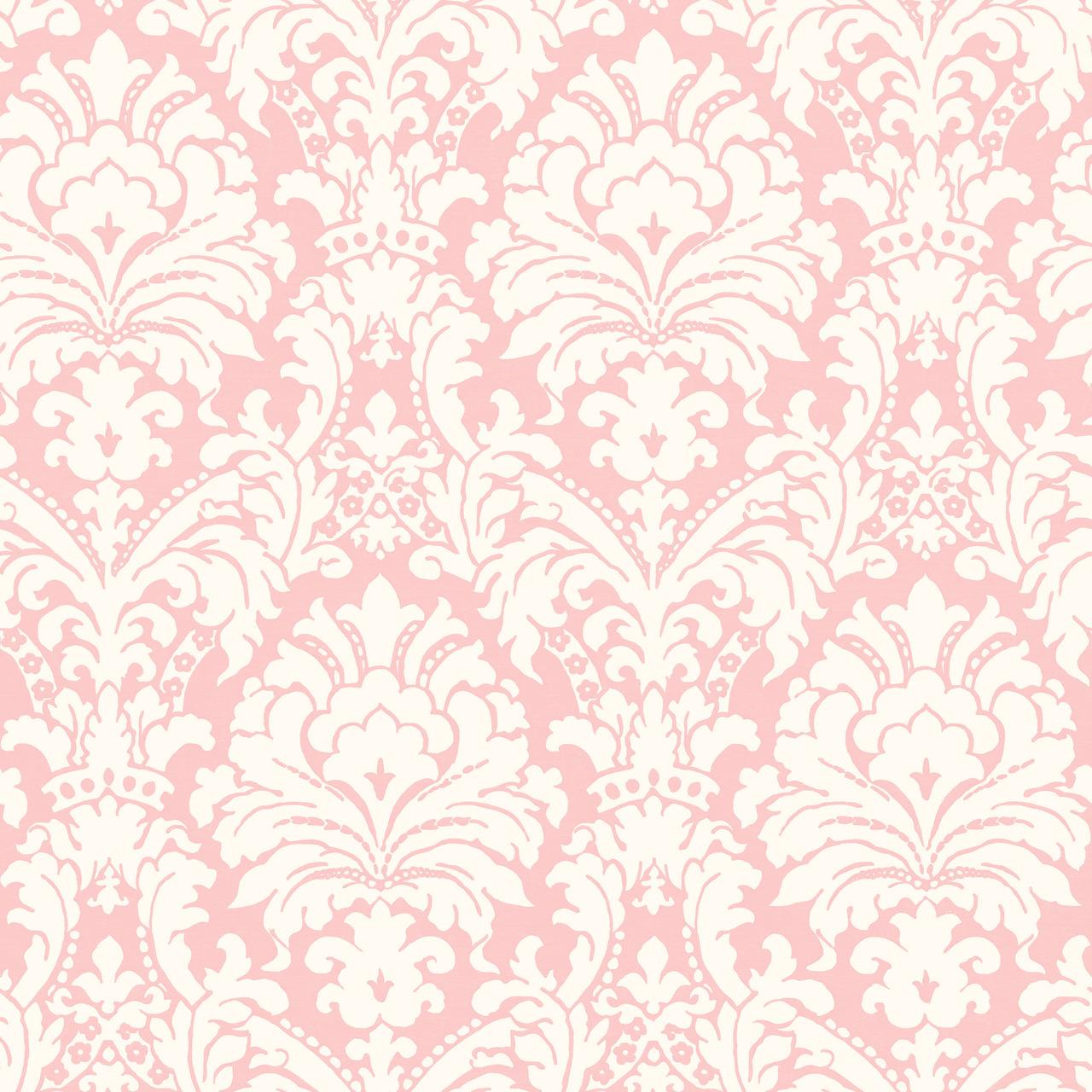 simple damask border wallpaper - 736×736