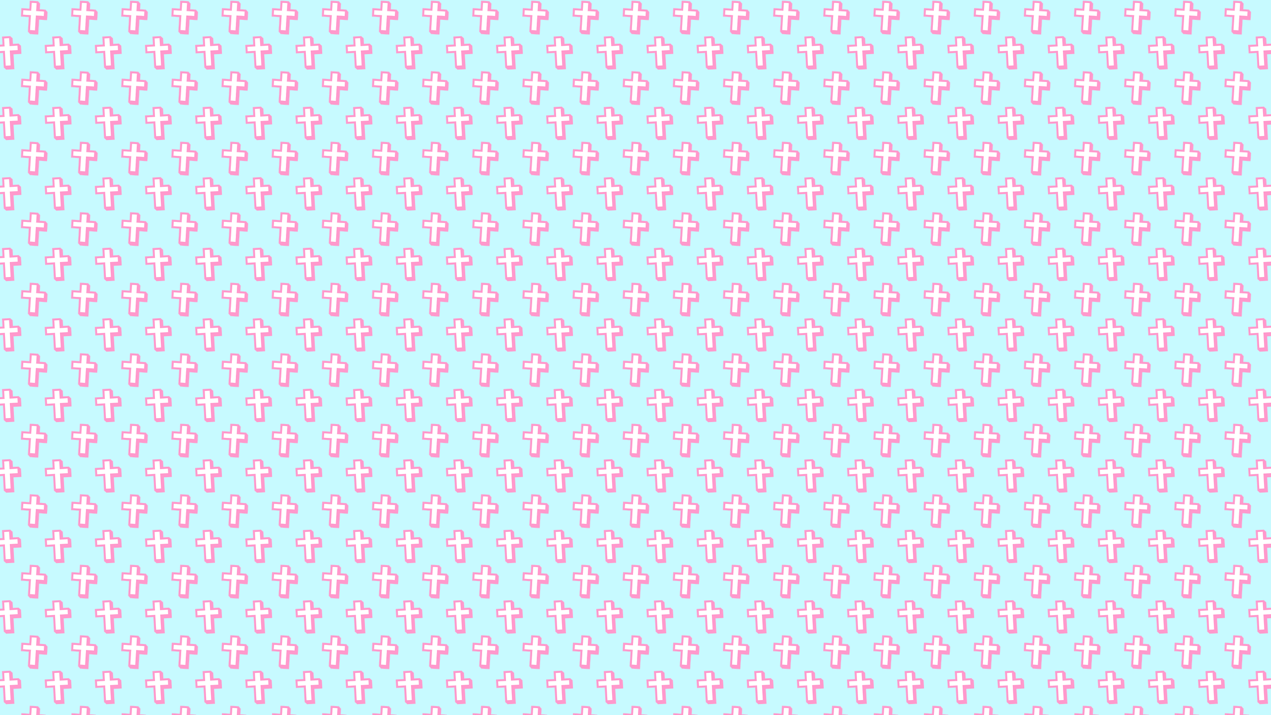 Cute Crosses Background Wallpaper Desktop Wallpapers 2560x1440