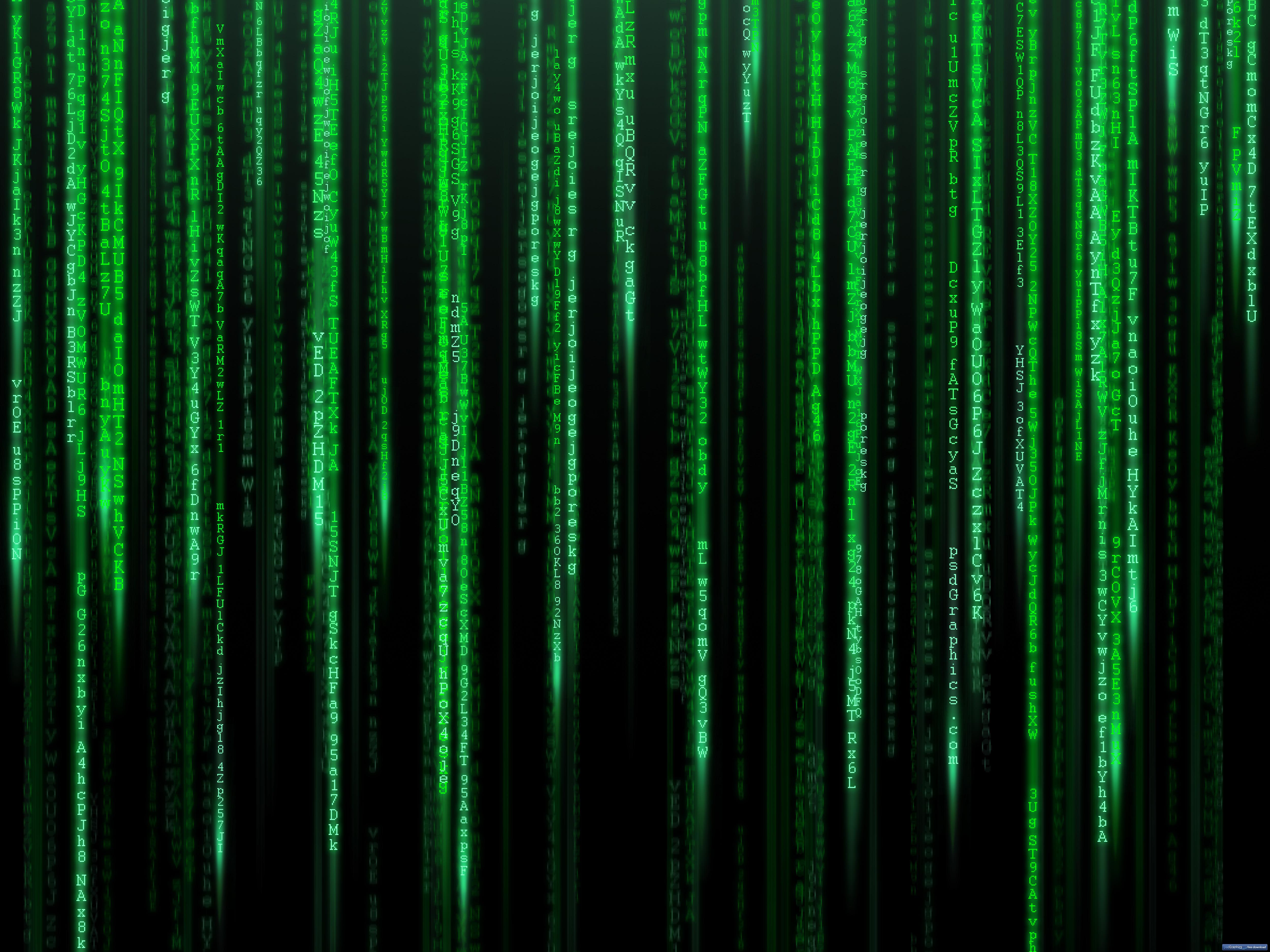 Matrix wallpaper 5000x3750