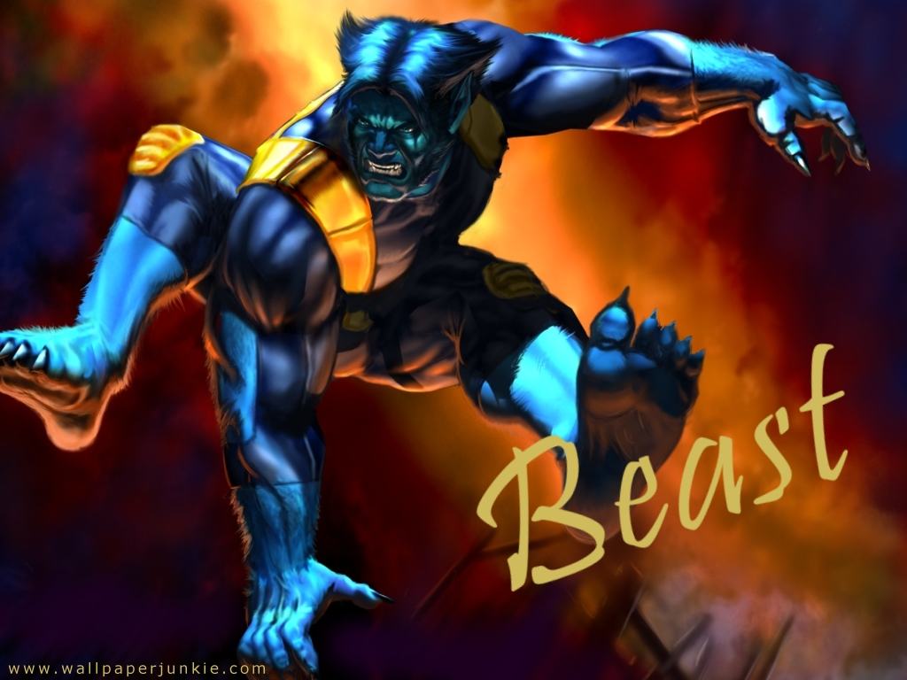 Men Beast Wallpaper 1024x768