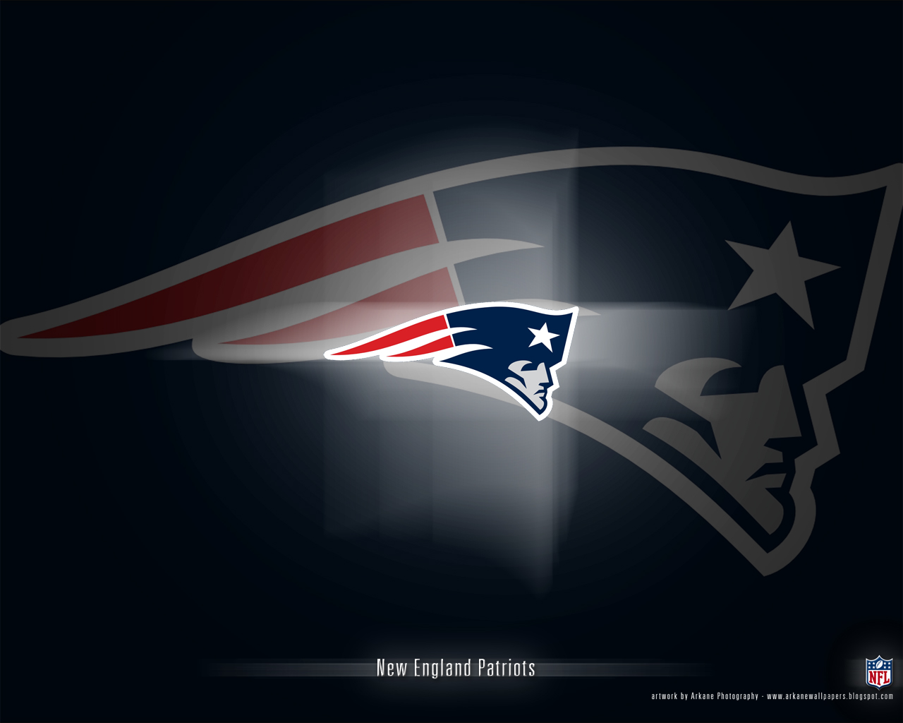 Arkane NFL Wallpapers: New England Patriots - Vol. 1