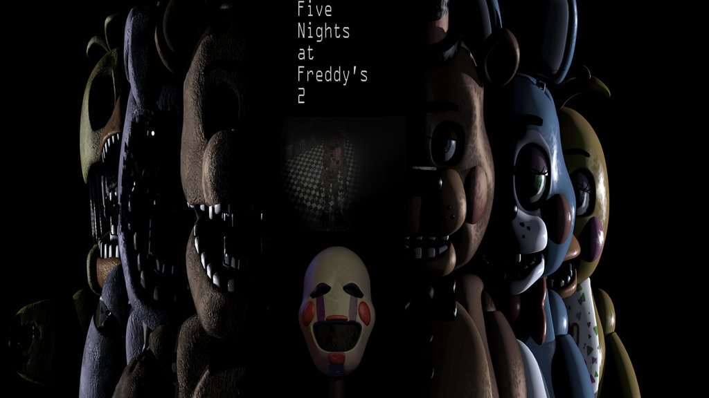 FNAF 2 wallpaper2 2 by ScarsToupe 1024x576