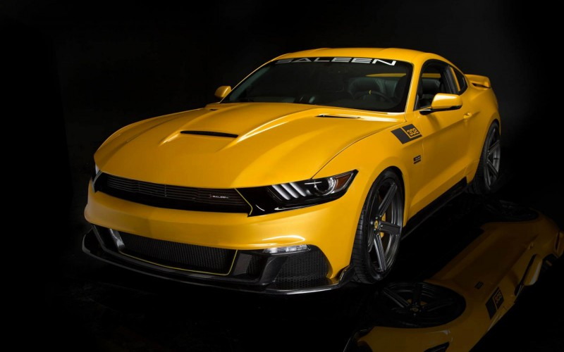 Name 2015 Saleen S302 Black Label Mustang Wallpaper 800x500