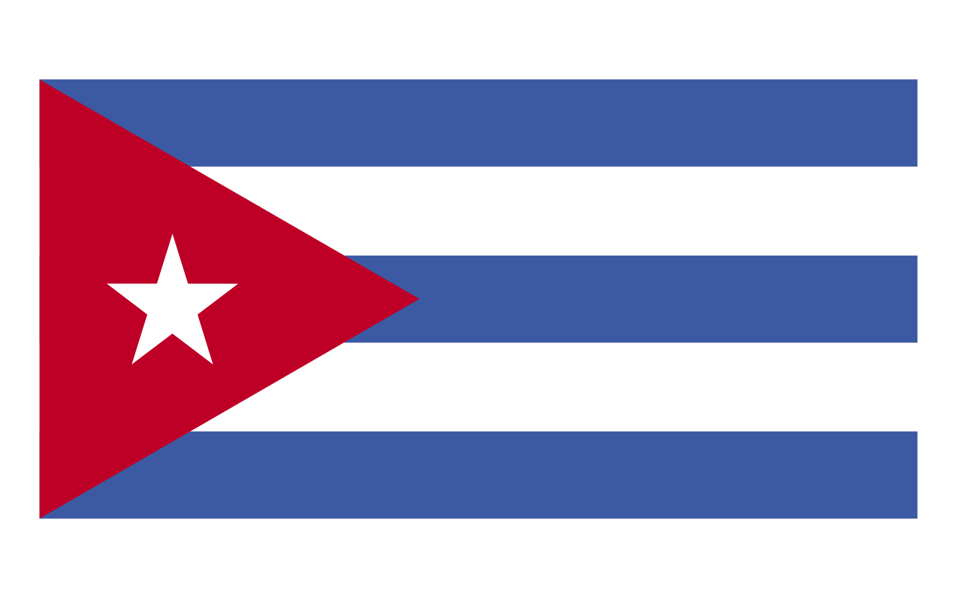 Cuban flag desktop wallpaper Flag wallpapers 1920x1200