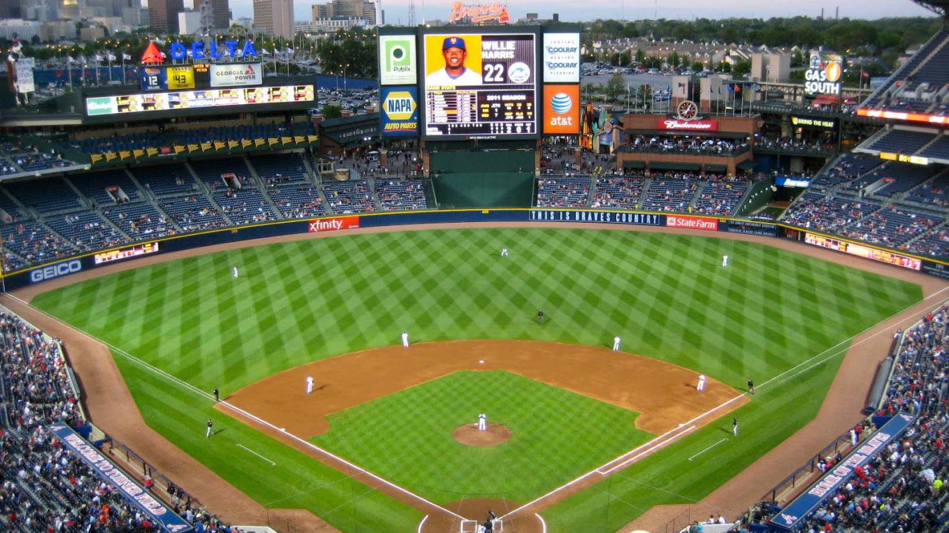 Atlanta Braves Turner Field Wallpaper HD 1366x768
