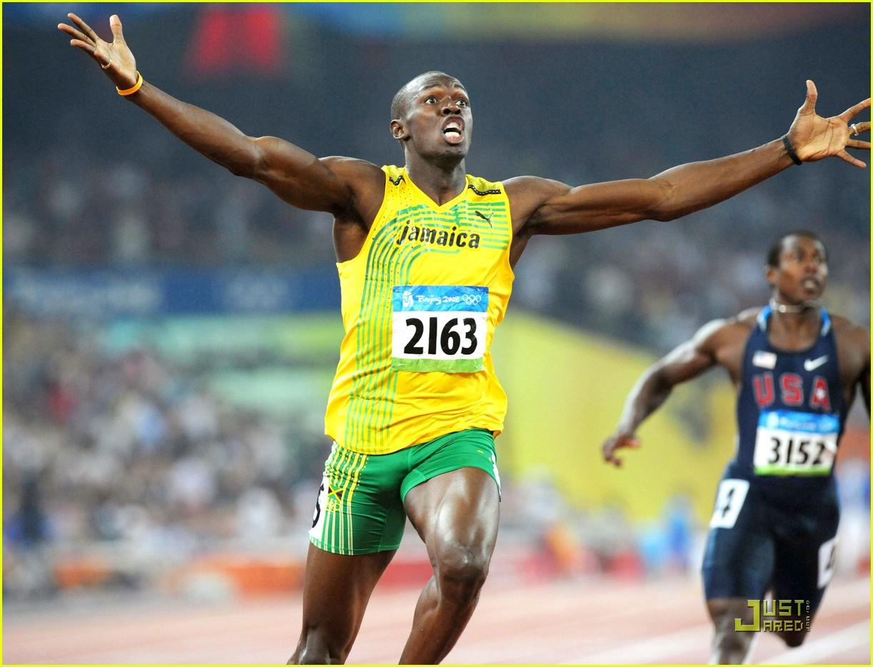 Usain Bolt Olympics Usain Bolt Beijing Olympics